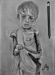 Fine art sketch