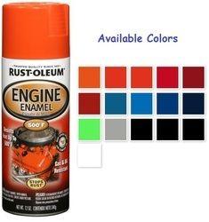 Automotive Spray Paints Rust Oleum Automotive Rubberized