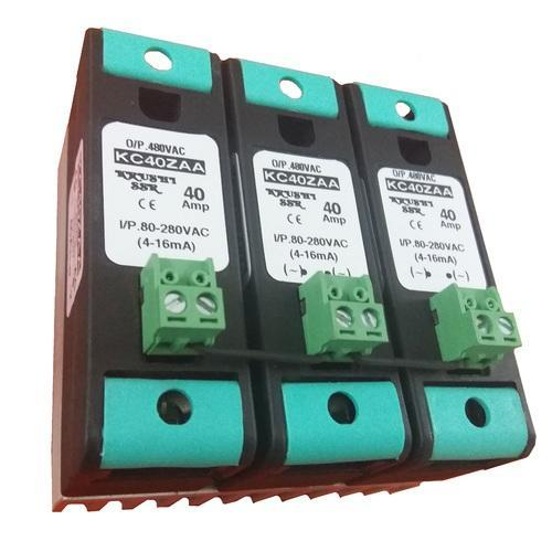 Ac To Ac 40amp 3phase Mcb Type Solid State Relay at Rs 1109 piece