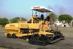 Asphalt Sensor Paver Finisher