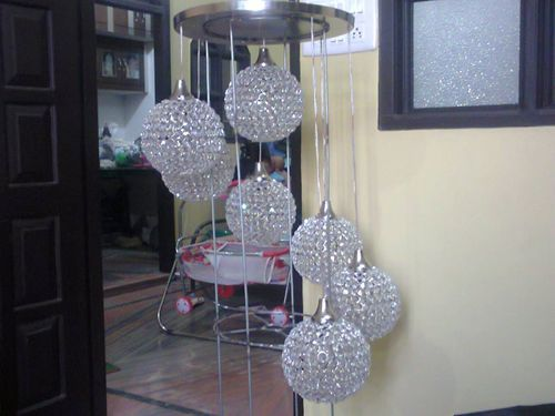 Crystal hanging chandelier at rs 7500 pieces hanging jhumar crystal hanging chandelier aloadofball Image collections