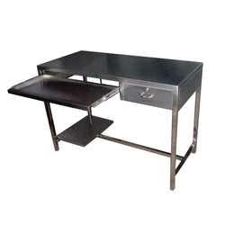 Veer Stainless Steel Computer Table, For Home, Size: 1060 L X 600 W X 750 H Mm