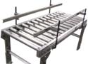 L Shape SS Slat Chain Conveyor