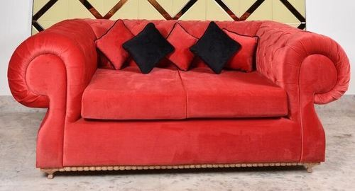 Suede Red The Wakefield Sofa, Rs 70000 /piece, Vilasa Luxury Living ...
