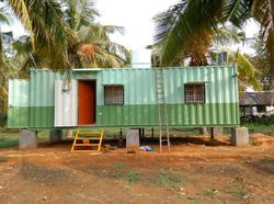 Steel And PVC Container Homes