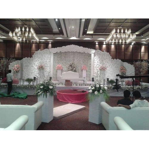 Fancy indoor wedding stages at rs 150000 set wedding stage id fancy indoor wedding stages junglespirit Choice Image
