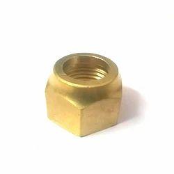 Golden Round Brass Nut