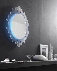 黑莓银镜意大利镜子