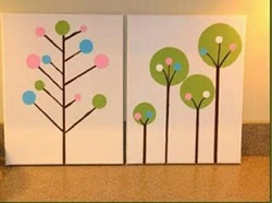 Canvas Paintings For Kids Room Decor