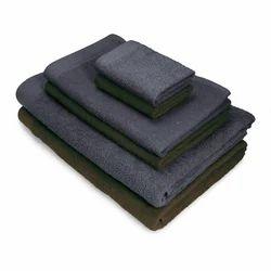 Dark Colored Bath Towel Set