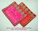 Saree Cover With Jardoshi Border