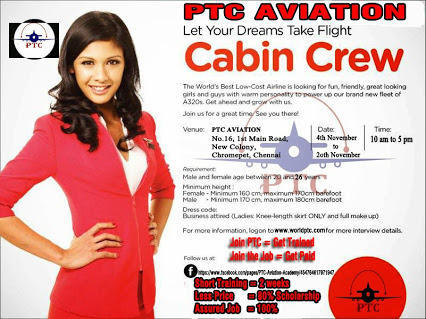 Airport Aviation Job Consultancy Services in Chromepet