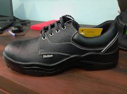 Safety Shoes With Steel Toe (Black Burn)
