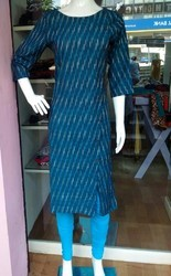 Plain And Embroidered Casual Ladies Kurti
