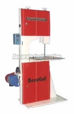 3hp Manual Vertical Bandsaw Machine, Size/Dimension: 300vb, Material Grade: Plastic