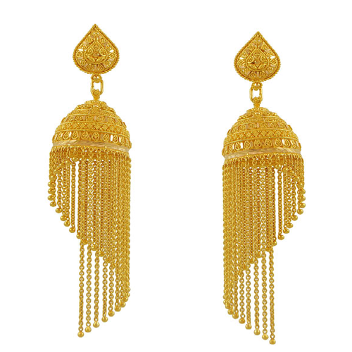 Designer Gold Earrings A V pany