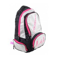 White And Black School Bags
