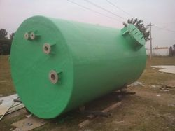 FRP PP Acid Storage Tank