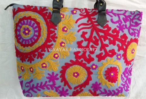 ee8d710a0c71 Multicolor Vinayak Handicraft Handmade Suzani Vintage Bag