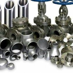 Stainless Steel Industrial Piping Components