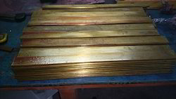 Rectangular Phosphor Bronze Flats, Thickness: 12-22 mm