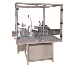 Square Bottle And Positioning Type Labelling Machine