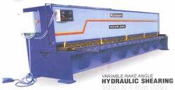 HYDRALIC POWER SHEARING MACHINE