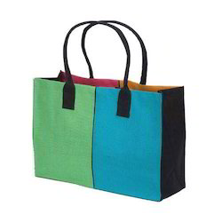 Many Colors Are Available Jute Laminated Shopping Bag