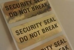 Security Tamper Proof Labels