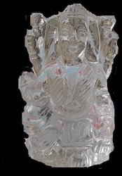 Laxmi Idol of Crystal