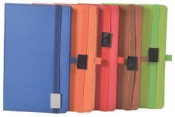 Synthetic PU Leather Elastic Notebook Diary