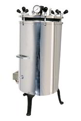 BIO TECHNO LAB SS Vertical Autoclave With Foot Lifting,...