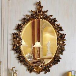 Brown Antique Mirror