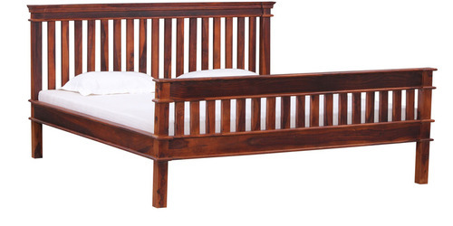 Teak Wood Reaper Model Double Cot At Rs 19500 No Wooden Cot Bed