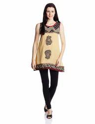 Designer Ladies Cotton Kurti Top
