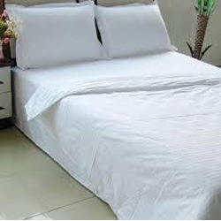 White Bed Sheet