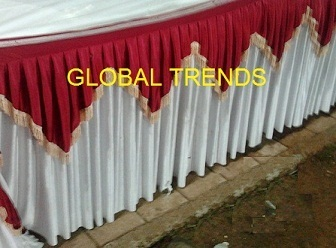 decorative table frills concepts worldwide exporter in andheri
