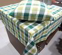Green Checkered Table Cloth