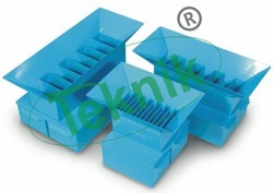 Riffle Boxes Sample Splitter