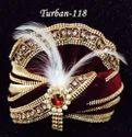 Maroon Wedding Turban