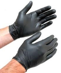 H. M Black Nitrile Gloves