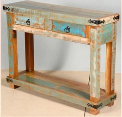 Reclaimed Wood Console Table Reclaimed Wood Furniture House Of