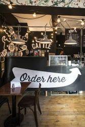Cafe Interior Design At Rs 1300 Square Feet S Modern Cafe Interior Design Small Cafe Interior Design क फ इ ट र यर ड ज इन Cafe Interior Design Khanak Interiors Ghaziabad Id 11609858591