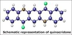 Quinacridone, >99%, 25 Kg Packet, for Automobile Industry