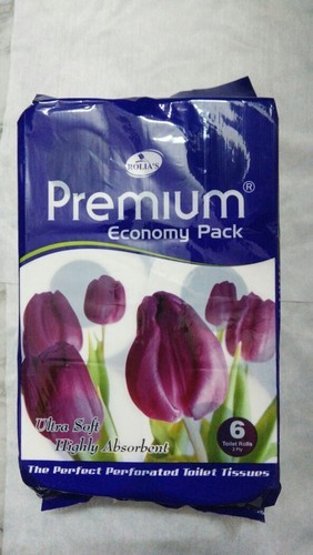 Premium Toilet Rolls, Pack Size: 6in1, For For Toilet Use