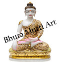 Printed Marble Buddha Statue