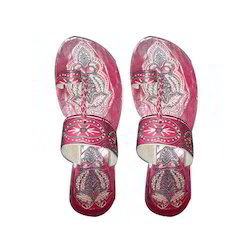 Leather Ladies Party Wear Kolhapuri Sandal