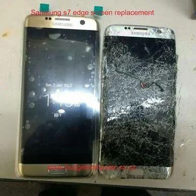 Samsung S7 Edge Glass