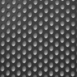 Staggered Round Holes Perforated Sheet