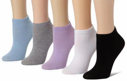 Soft Cotton Ladies Ankle Socks